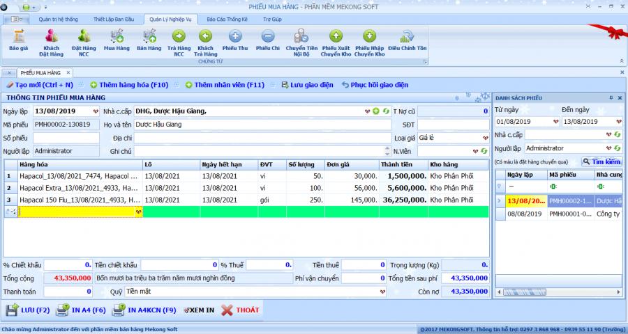 phần mềm quản lý bán thuốc tây 2