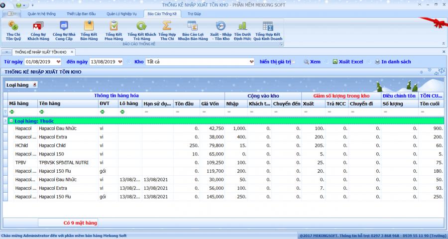 phần mềm quản lý bán thuốc tây 8