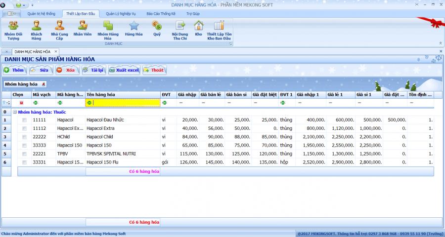 phần mềm quản lý bán thuốc tây 1