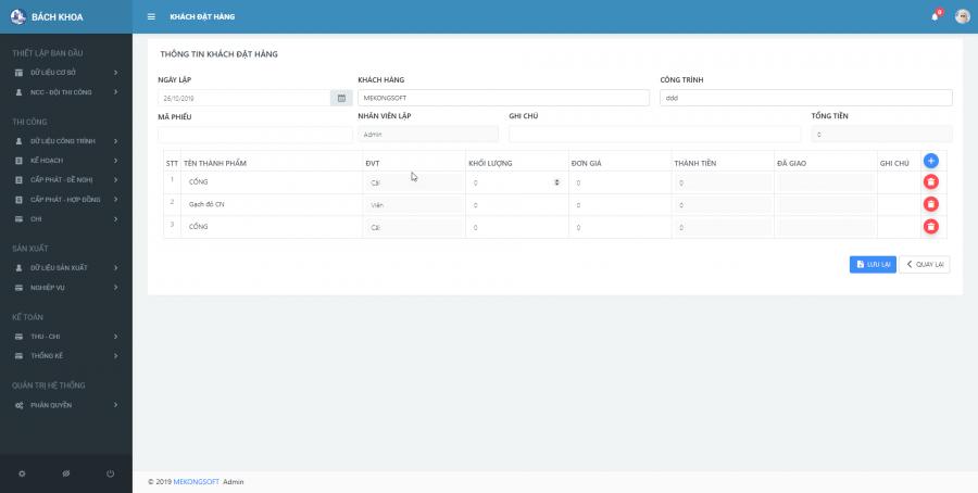 Phần mềm quản lý thi công 33