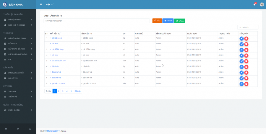 Phần mềm quản lý thi công 7