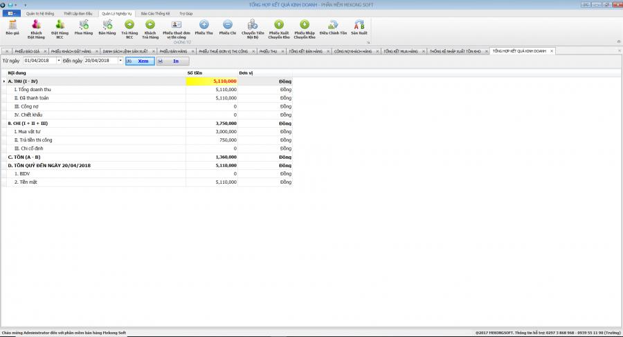 Phần mềm quản lý sản xuất in ấn thiệp, thi công quảng cáo 13