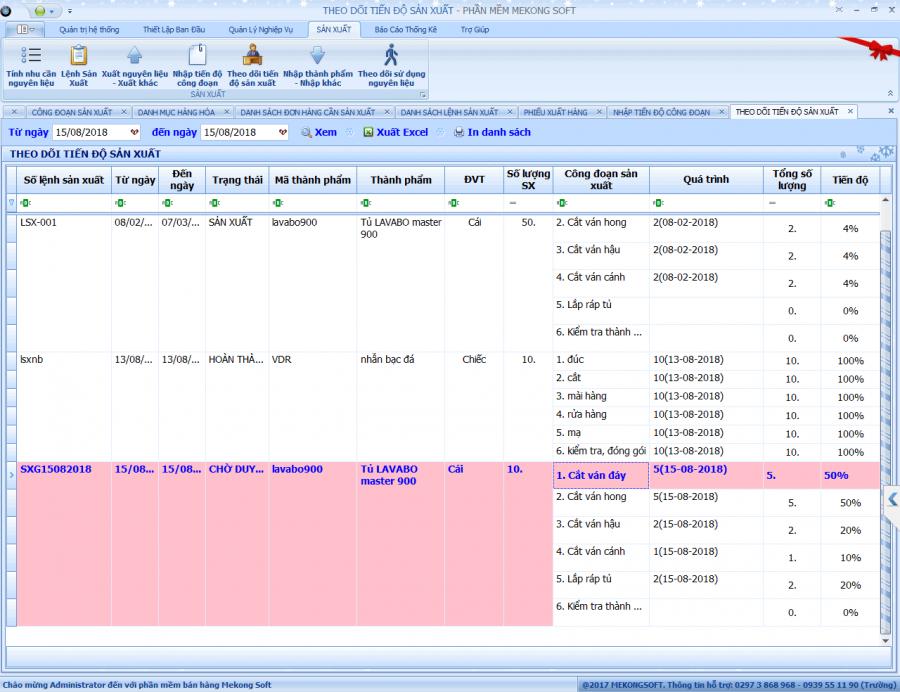 Phần mềm quản lý bán hàng, sản xuất cho doanh nghiệp vừa và nhỏ 7