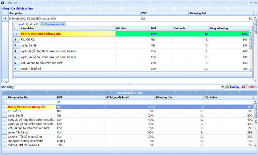 Phần mềm quản lý bán hàng, sản xuất cho doanh nghiệp vừa và nhỏ 9