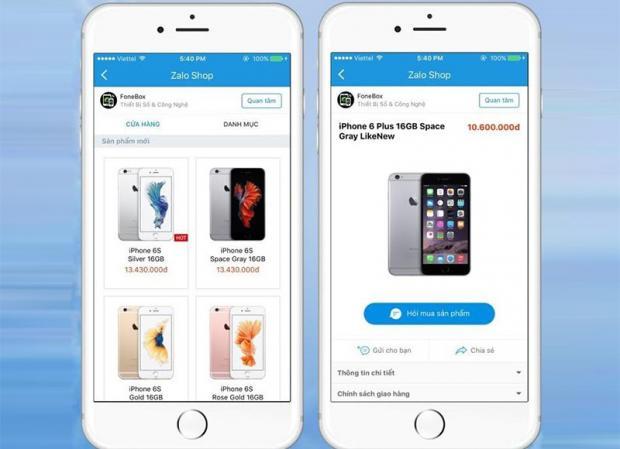 Zalo ra mắt tính năng mới dành cho doanh nghiệp và chủ shop 1